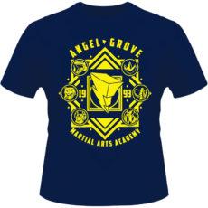 Camiseta-Angel-Grove-Martial-Arts