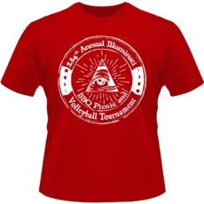 Camiseta-Annual-Illuminati-and-Volleyball