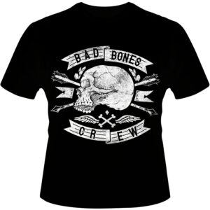 Camiseta-Bad-Bones-Crew-Skull
