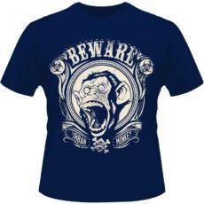 Camiseta-Beware-Urban-Monkey