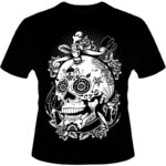 Camiseta-Caveira-Mexicana-Rozes