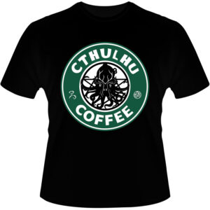 Camiseta-Cthulhu-Coffee