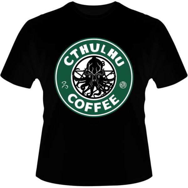 Camiseta-Cthulhu-Coffee