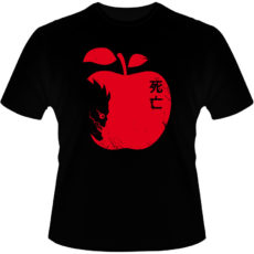 Camiseta-Death-Note-Riuk-Apple
