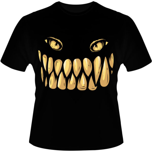 Camiseta-Dentes-de-Monstro