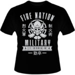 Camiseta-Fire-Nation-Military