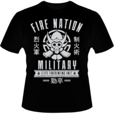 Camiseta-Fire-Nation-Military