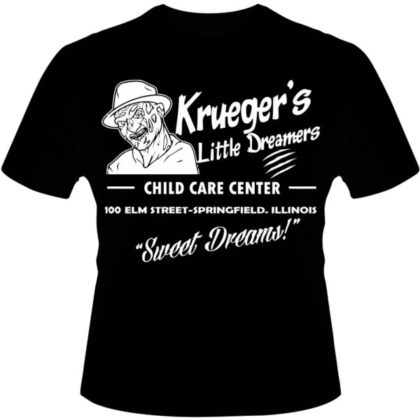 Camiseta-Freedy-Krueger-Sweet-Dreams