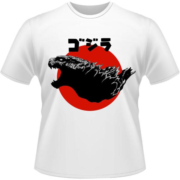 Camiseta-Godzilla-King
