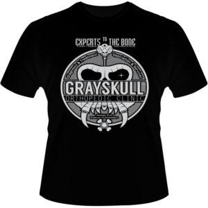 Camiseta-GraySkull
