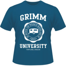 Camiseta-Grimm-University