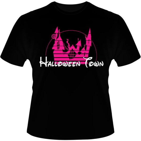 Camiseta-Halloween-Town