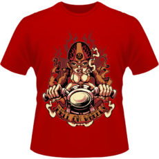Camiseta-Hell-of-Wheels-Motorcycle
