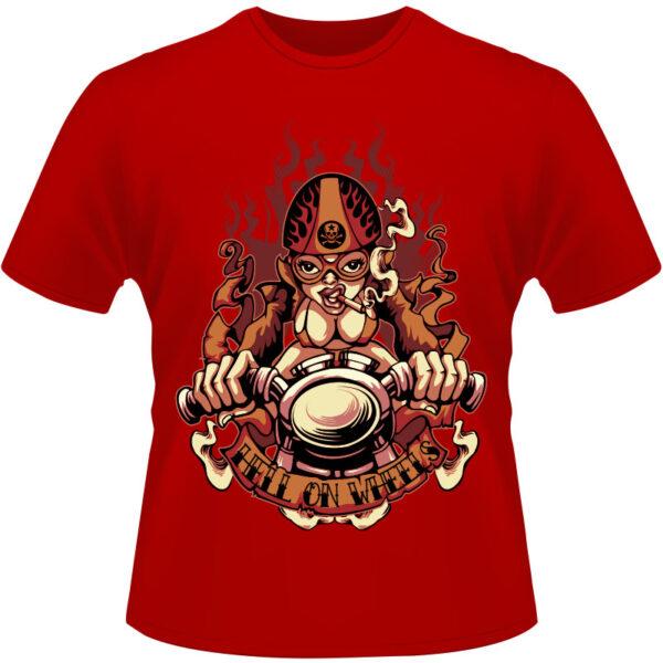 Camiseta-Hell-of-Wheels-Motorcycle