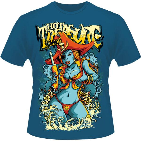 Camiseta-Hot-Treasure-Bang