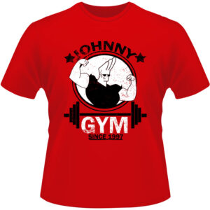 Camiseta-Johnny-Bravo-Gym