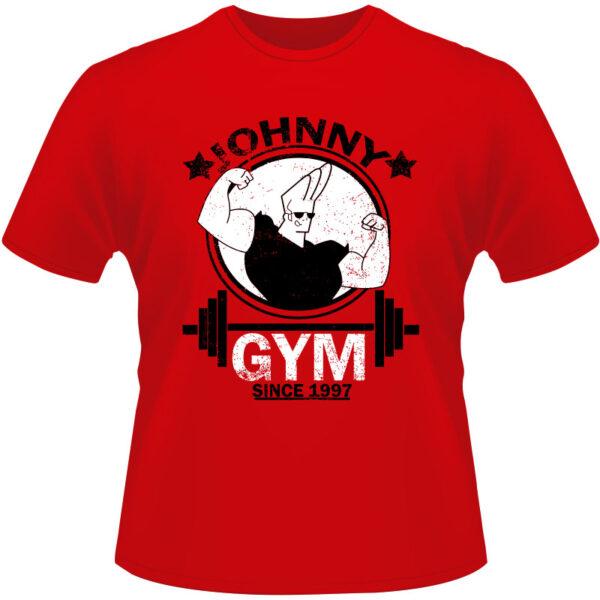 Camiseta-Johnny-Bravo-Gym