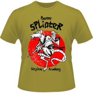 Camiseta-Master-Splinter-Ninja-Turtles