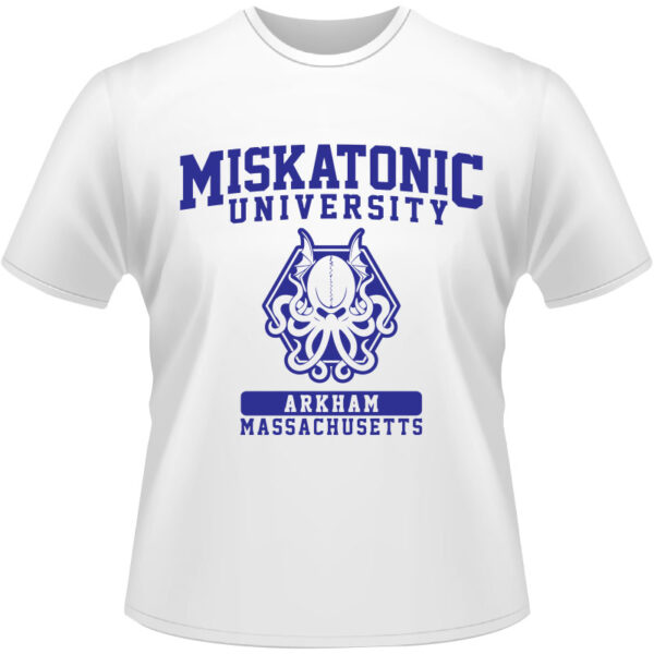 Camiseta-Miskatonic-University-Arkham