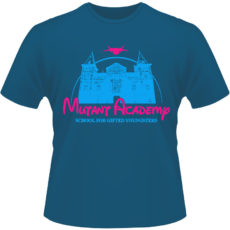 Camiseta-Mutant-Acadamy-X-Men