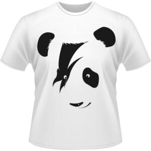 Camiseta-Panda-Rock