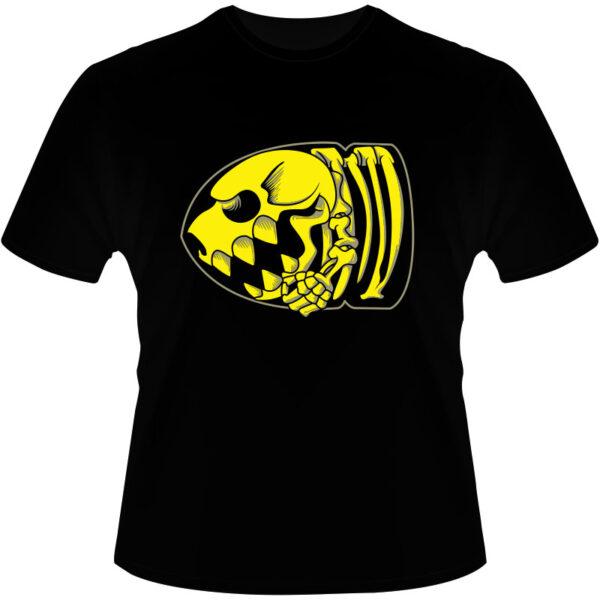 Camiseta-Pegatina-Bill-Bala-Skull