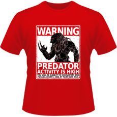 Camiseta-Predator-Warning