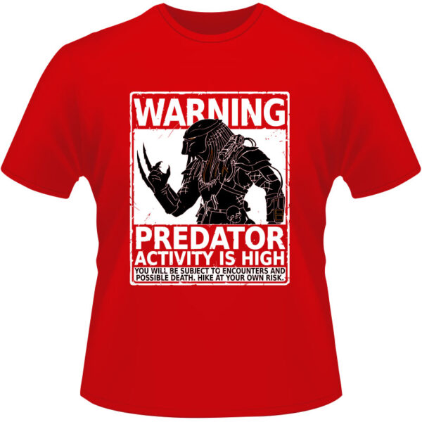Camiseta-Predator-Warning