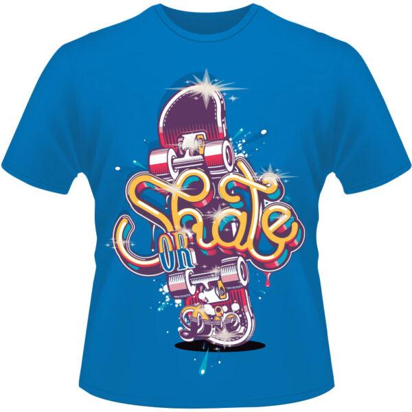Camiseta-Skate-or-Die