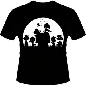 Camiseta-Snoopy-Zombie