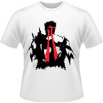 Camiseta-Street-Fighter-Ryu-Grunge