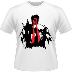 Camiseta-Street-Fighter-Ryu-Grunge