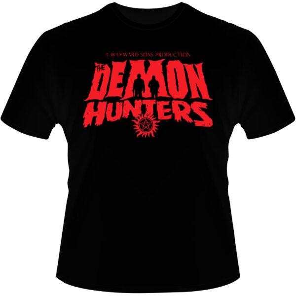 Camiseta-Supernatural-Demon-Hunters