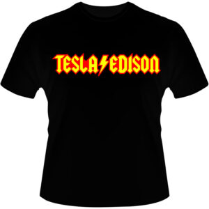 Camiseta-Tesla-Vs-Edison