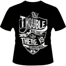 Camiseta-The-Trouble-In-Real-Life