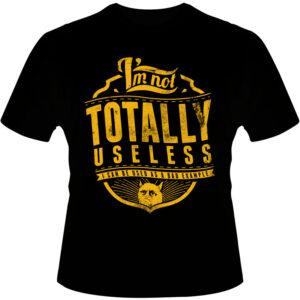 Camiseta-Totally-Useless