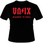 Camiseta-Unix-Highway-To-Shell