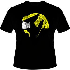 Camiseta-Wolverine-Grunge