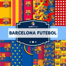 Kit-Digital-Premium-Scrapbook-Papeis-Barcelona-Futebol